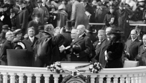 Wilson's second inauguration.  Emmett is also in the crowd there...somewhere.  Source: www.loc.gov