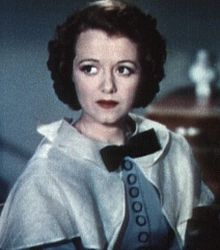 "I think Minnie resembled Janet Gaynor a bit. From: ""A Star is Born,"" 1937."