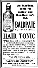 Imagine going to the store and asking for a bottle of this stuff.  It was probably 20 percent alcohol. McClure's Magazine, July 1915.