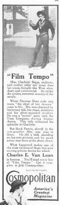 Cosmopolitan Magazine ad, from McClure's Magazine, July 1915.