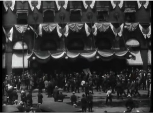 Footage from the 1916 Democratic National Convention in St. Louis, Missouri. Source: YouTube, https://www.youtube.com/watch?v=aVG45k5oJrY