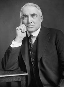 The studly Warren G. Harding.