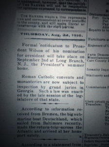 The anti-Catholic sentiment was not felt only in Georgia at that time. Florida's next governor, Sidney Catts, ran on an anti-Catholic (as well as a prohibition) platform.