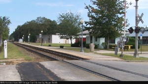 The original train station in Chipley is long gone; this is the current Amtrak station. Source: www.trainweb.org