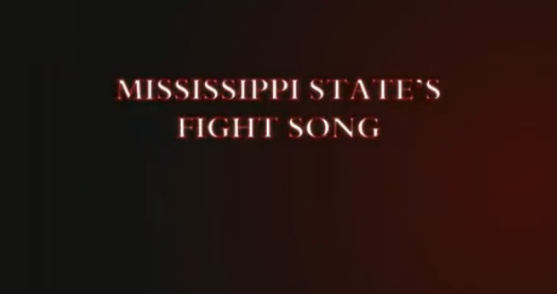 MSU's Fight Song. Click the image to hear the Fabulous Maroon Band! Source: https://www.youtube.com/watch?v=vbQ8fYlwSho