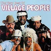 Not exactly the Village People I had in mind, but you get the idea. Source: officialvillagepeople.com