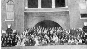 Emmett's in there somewhere! WFS student body, 1901. Source: State Archives of Florida, Florida Memory, http://floridamemory.com/items/show/25064