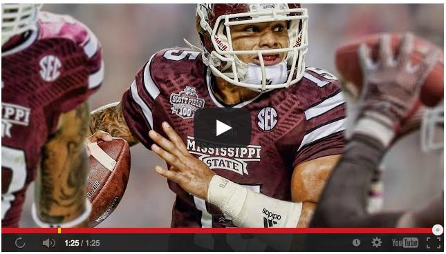 MSU vs Auburn on CBS  Source: https://www.youtube.com/watch?feature=player_embedded&v=Y0RO5mja5qc