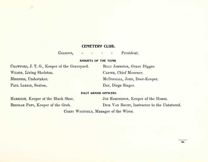 From: The Argo, 1900. West Florida Seminary (now Florida State University).