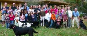 Big family, many dogs, lots of off-topic issues, you can be certain.