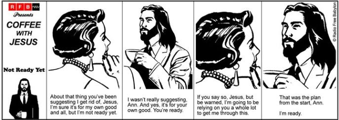 Letting go, letting God. Source: https://www.facebook.com/RadioFreeBabylon