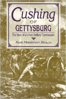 Cushing of Gettysburg by Kent Masterson Brown. Image Source: www.amazon.com