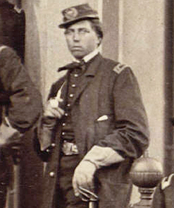Cushing smoking his Meerschaum pipe. Image source: www.housedivided.dickinson.edu