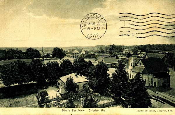 Chipley, Florida, 1906. Image source: www.Cityofchipley.com