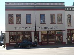 The Commercial Dispatch. Same building for decades. Source: flicker.com