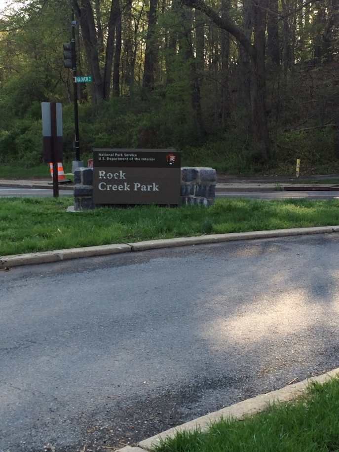 Rock Creek Park, which runs through Washington, DC, is a great commuter route for cyclists. Auto traffic is limited, on purpose.