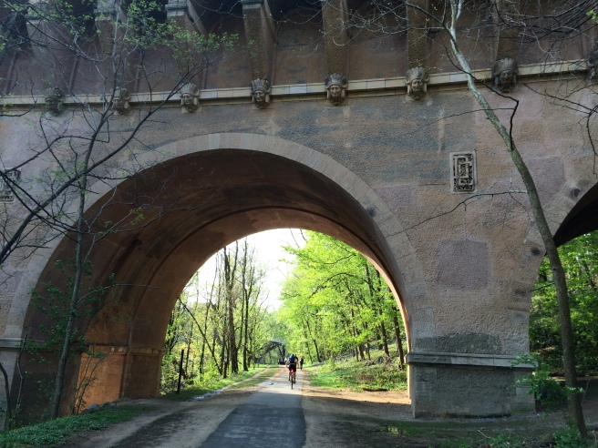 You also pass under the historic Indian Head bridge in Georgetown.