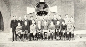 Platonic Debating Society. 1900-01 Argo. Source: FSU archives