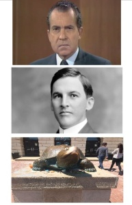 Anyone else notice that Tricky Dick, Emmett, and Testudo all have the same expression?