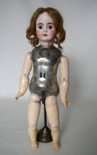 Two-foot creepy talking doll from 1890. Source: NPR
