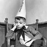 Whatever happened to dunce caps in class anyway? Wish I could give a few students a virtual dunce cap, but I can tell you that can't happen. Image source: The Media Speaks.