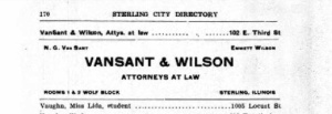 Sterling City Directory. Source: Ancestry.com