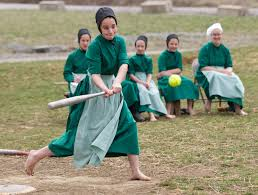 Not my daughter, but a group of Amish girls. Source: CBSnews.com