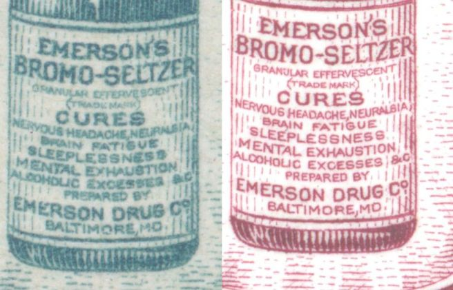 Emmett quaffed a lot of this. It was OTC, as was morphine and codeine. Source: www.americanstampdealer.com