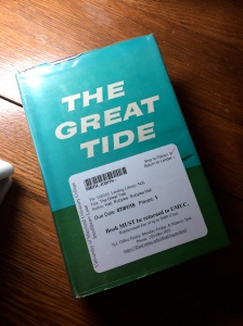 The Great Tide, by Rubylea Hall.