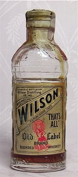 "The review on AlcoholReviews.com said of Wilson Whiskey: ""...clearly this was made for knocking back in sweltering weather."" If so, then I can see Emmett probably drinking this stuff in Florida. Or, in August in Washington, D.C. Source: Pinterest.com"