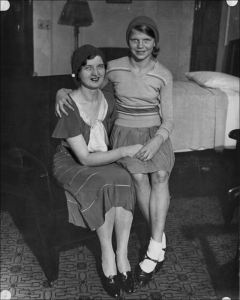 Nan Britton and her daughter, Elizabeth Ann. Source: Toledoblade.com