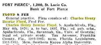 Who was CHB Floyd? Source: The American Bar, 1918.