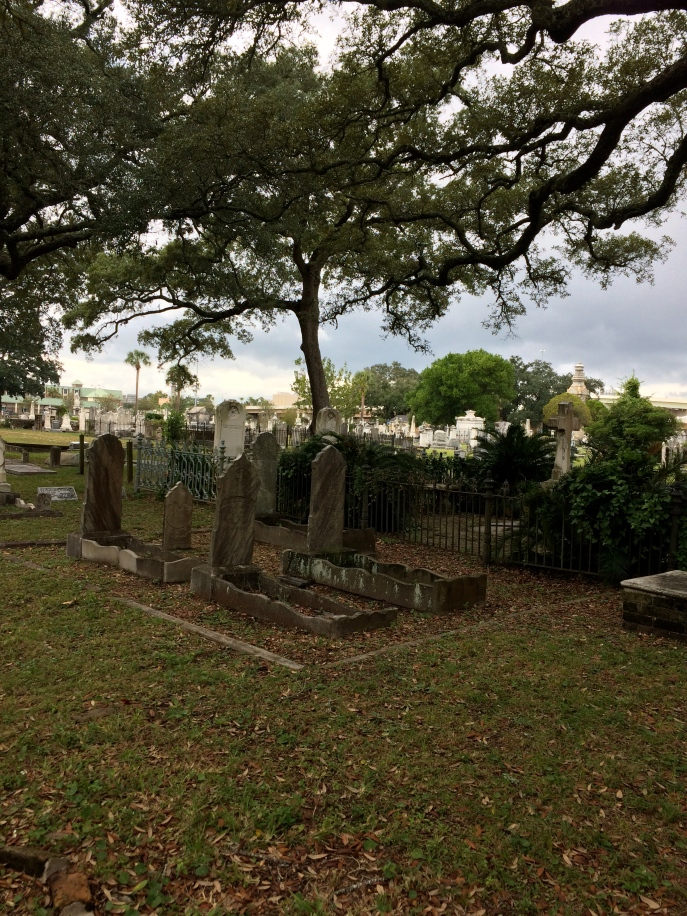 Another set of interesting graves. Note the small outline of the stone framework. These weren't children's graves.