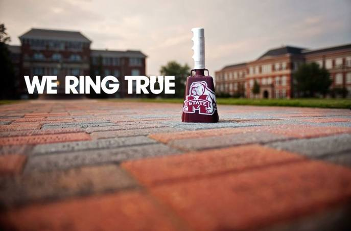 We Ring True. Go MSU! Source: Mississippi State University
