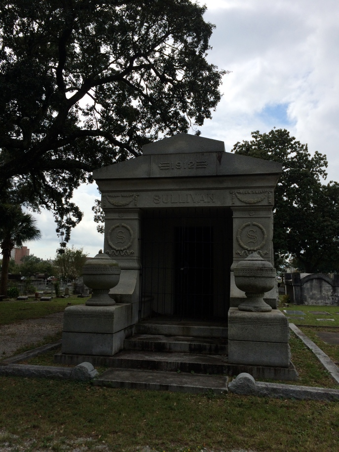 Martin & Kate Sullivan. Martin was a railroad and timber capitalist. Born in Ireland, died in Baltimore, buried here.