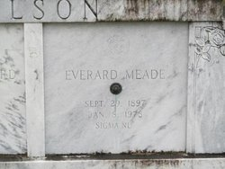I'm pretty sure this is Meade's son, Everard Meade Wilson. Buried in Sumter County, Florida. Source: findagrave.com