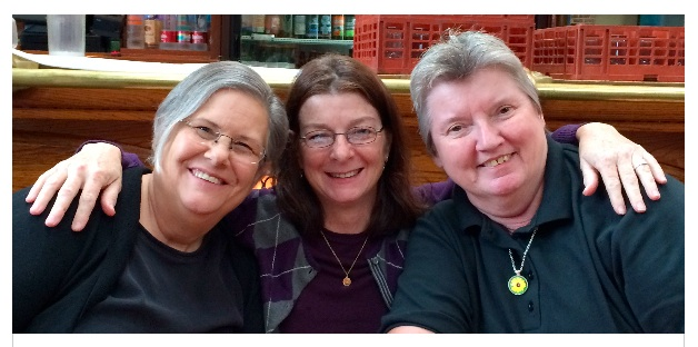 Jacki, myself, Nancy. History detective gals.