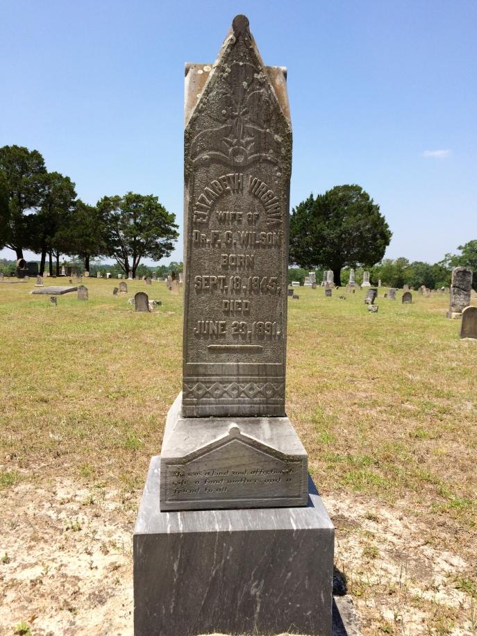 Emmett's mother, Elizabeth V. Wilson.