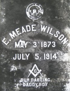 Meade's grave, at St. John's, Pensacola. Source: findagrave.com