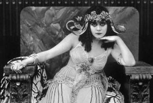 Theda Bara, as Cleopatra. Source: MentalFloss.com