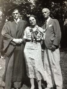 Everard, Katie, Emmett Meade. Charlottesville, Virginia, about 1930.