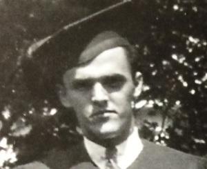 A close-up of Everard Meade.
