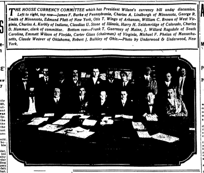 Emmett is first row, third from the left. Hard to tell if he is smirking or not. Source: The Daily News, Denver, Colorado, September, 1913