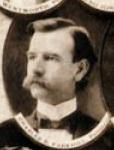Charles Parkhill, family man and handlebar mustache aficianado.