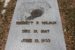 Emmett Paul Wilson, buried at St. John's Cemetery in Pensacola, not far from where our own Emmett is buried. Source: Findagrave.com