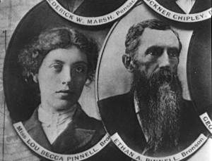 Lou Ella Pinnell and her father, Ethan Pinnell. Source: Florida Memory.com