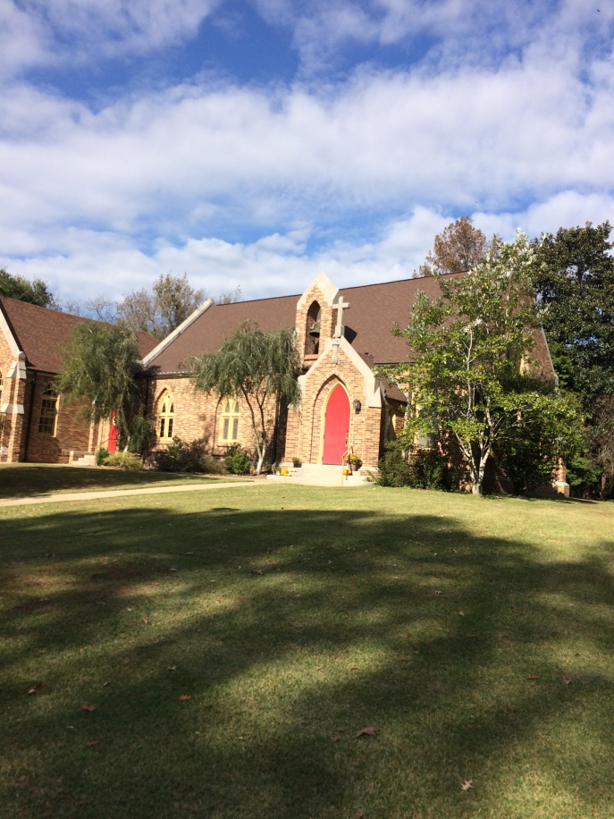St. Alban's Episcopal Church, Bovina, Mississippi.