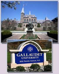 Gallaudet University. Source: Gallaudet.edu