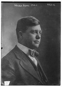 J. Walter Kehoe in 1917. Kehoe, Emmett's law partner, also succeeded him in Congress. Source: Wikipedia.com