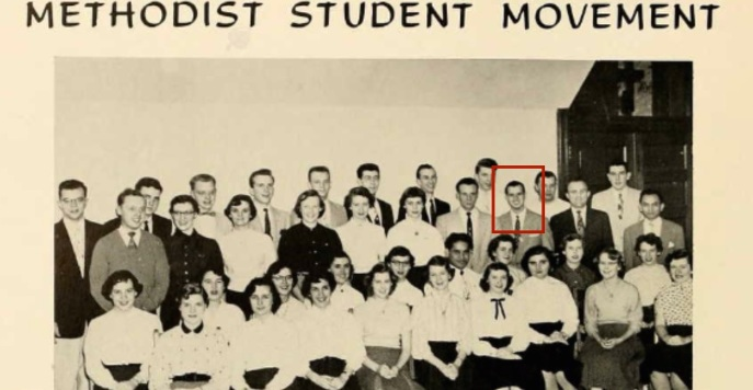 Theodore Jungas Wilson, in the red box. From the West Virginia Wesleyan Seminary in Buckhannon, WV. Source: Ancestry.com
